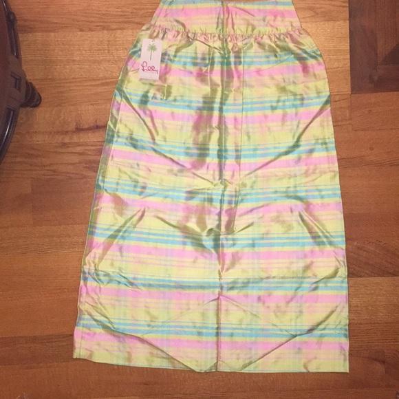 63d828cbb Lilly Pulitzer Skirts | Taffeta Ball Skirt Nwt 2 Maxi | Poshmark
